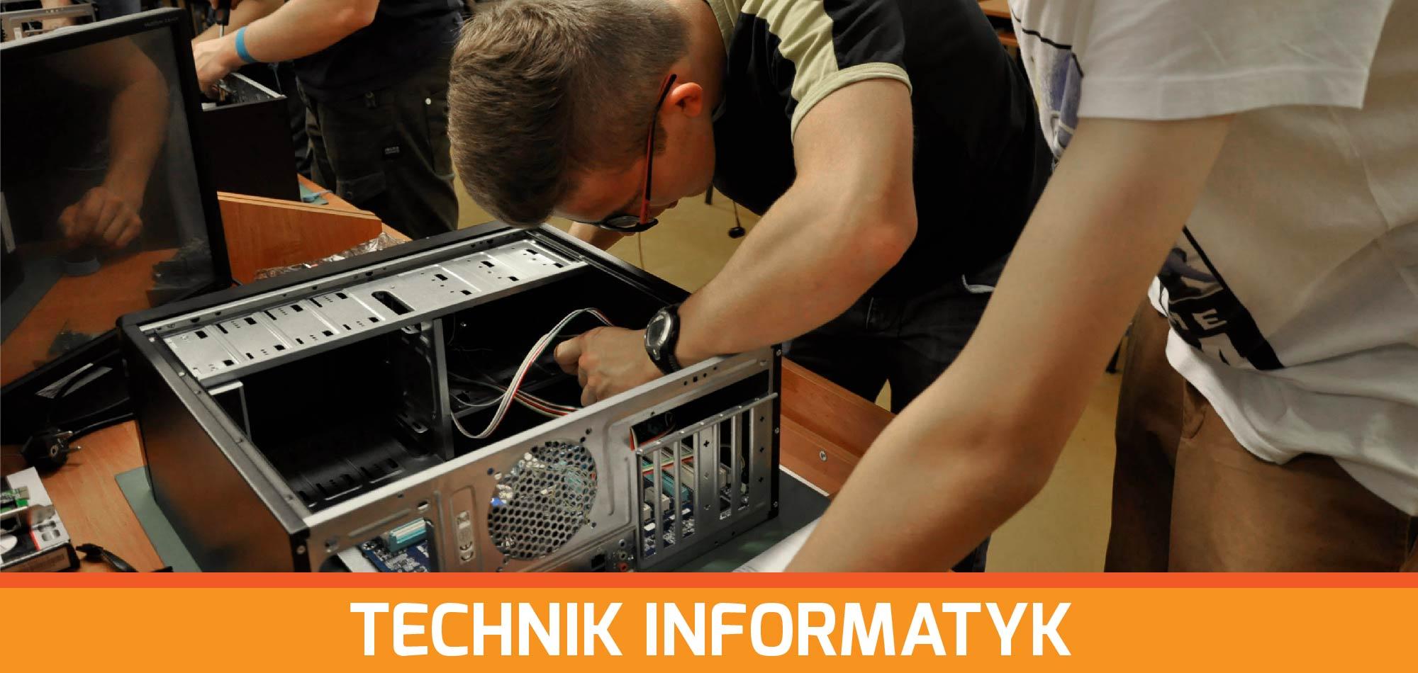 Technik informatyk | Technikum Nr 1 w Zamościu