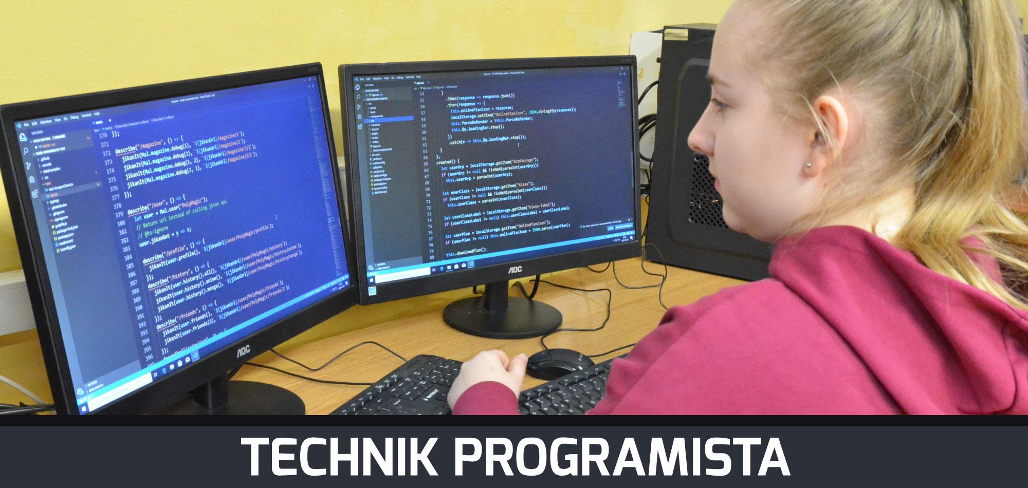 Technik programista | Technikum Nr1 wZamościu