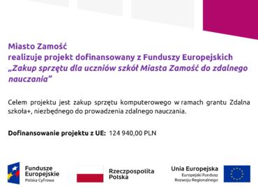 Zdalna Szkoła+ plakat