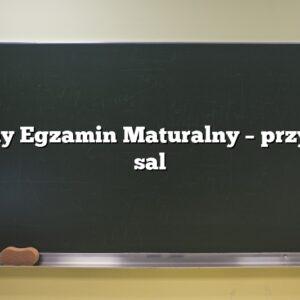 Próbny Egzamin Maturalny – przydział sal