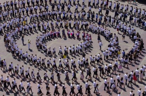 Próba pobicia rekordu Polski w tańczeniu poloneza