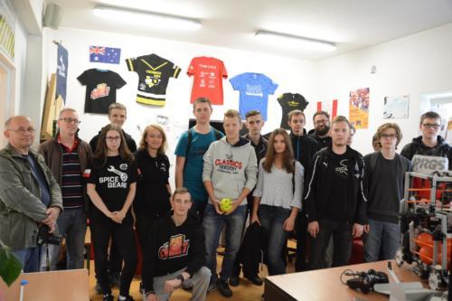 Wizyta u grupy Spice Gears z Kraśnika
